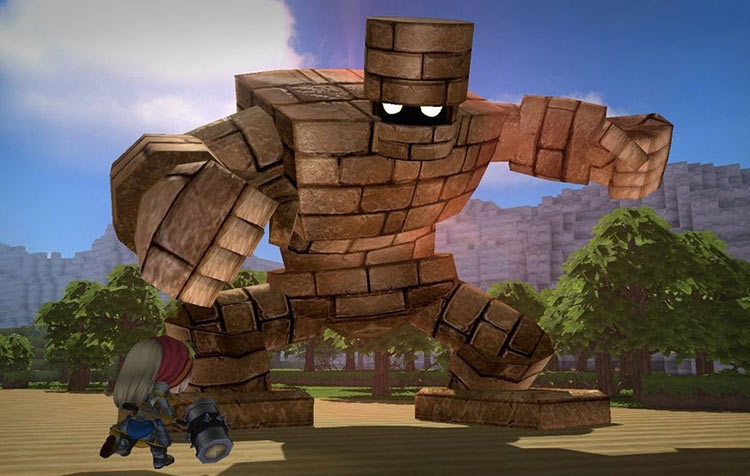 Оригинальная Dragon Quest Builders