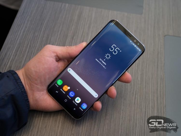 Состоялась презентация противоударного Самсунг  Galaxy S8 Active