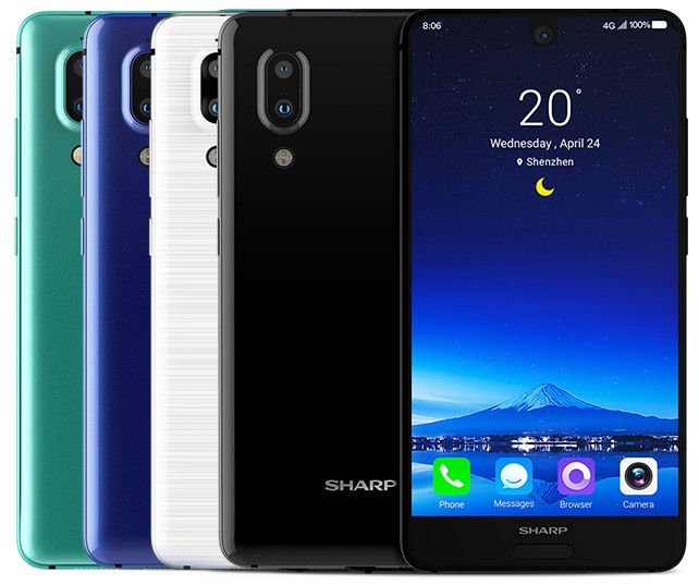 Смартфон Sharp Aquos S2