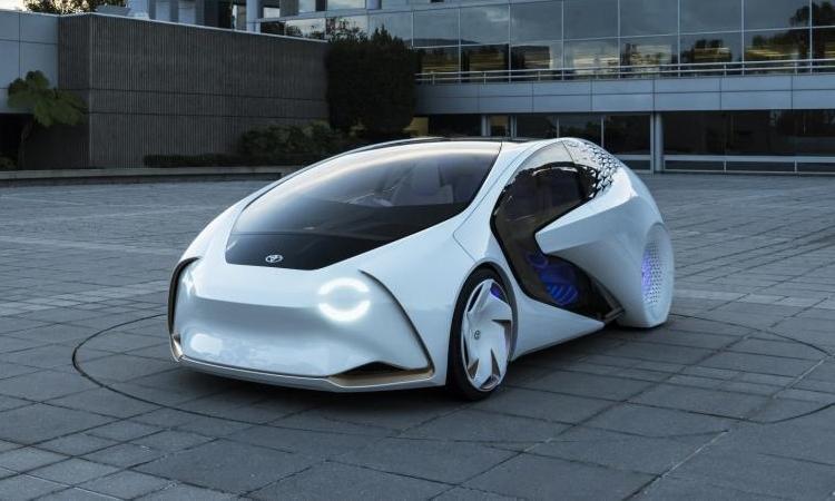 Концепт-кар Toyota Concept-i с системой искусственного интеллекта
