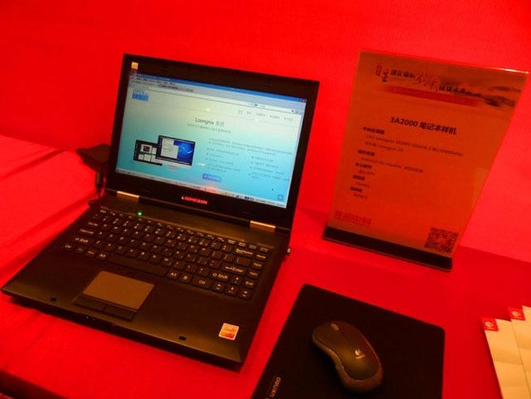 Ноутбук на процессоре Loongson под управлением Linux