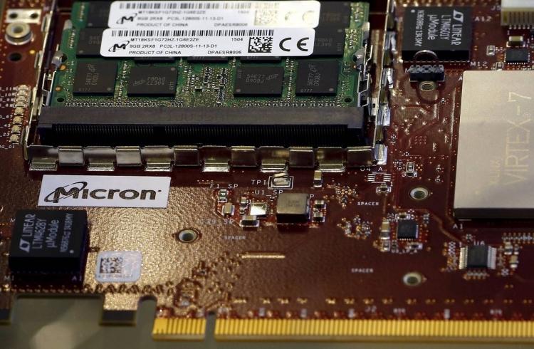 Модули памяти компании Micron