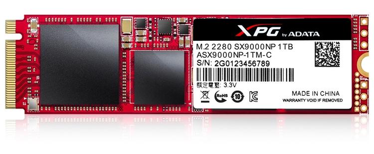 ad2 - Накопители ADATA XPG SX9000 обеспечиваются пятилетней гарантией