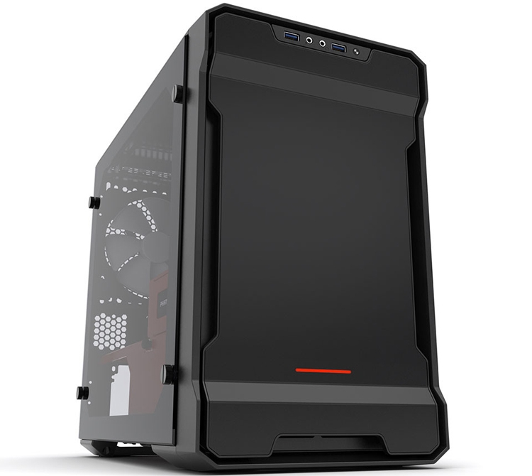 Phanteks Enthoo Evolv ITX Tempered Glass Edition: корпус для компактных настольных ПК