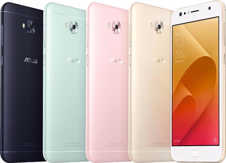 Смартфоны ASUS Zenfone 4 Selfie и Zenfone 4 Selfie Pro