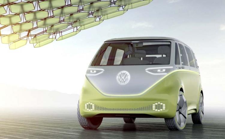 VW  решился навыпуск электровэна вдухе традиционного  Microbus