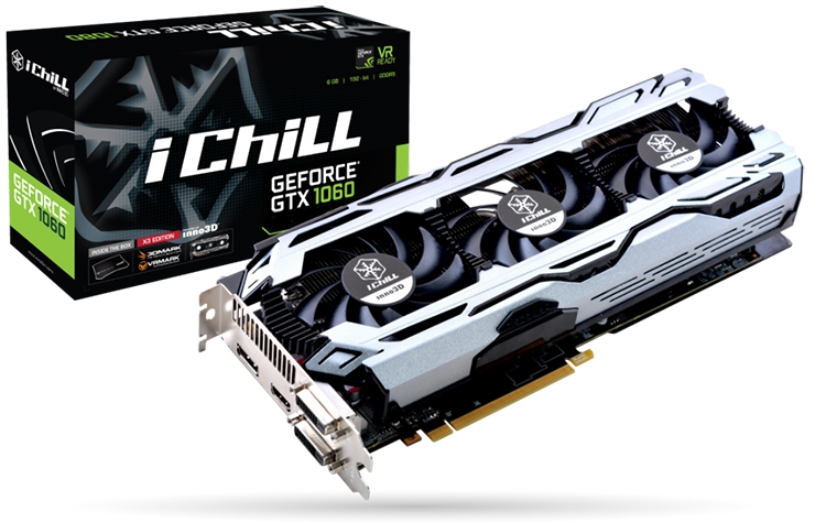 iChill GeForce GTX 1060 6GB X3 V2