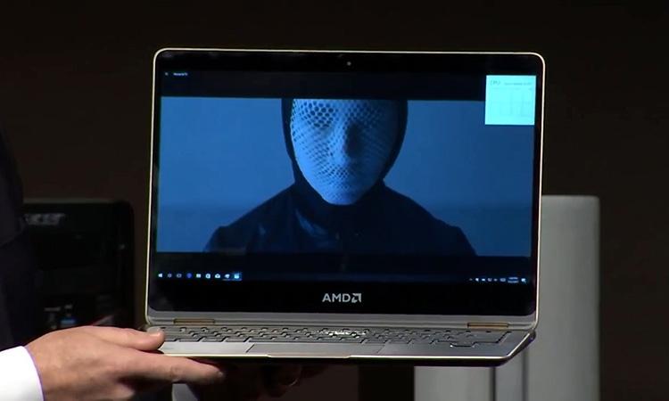 Прототип ноутбука на базе мобильного Ryzen