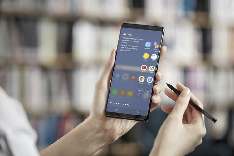 Самсунг представила фаблет Самсунг Galaxy Note8