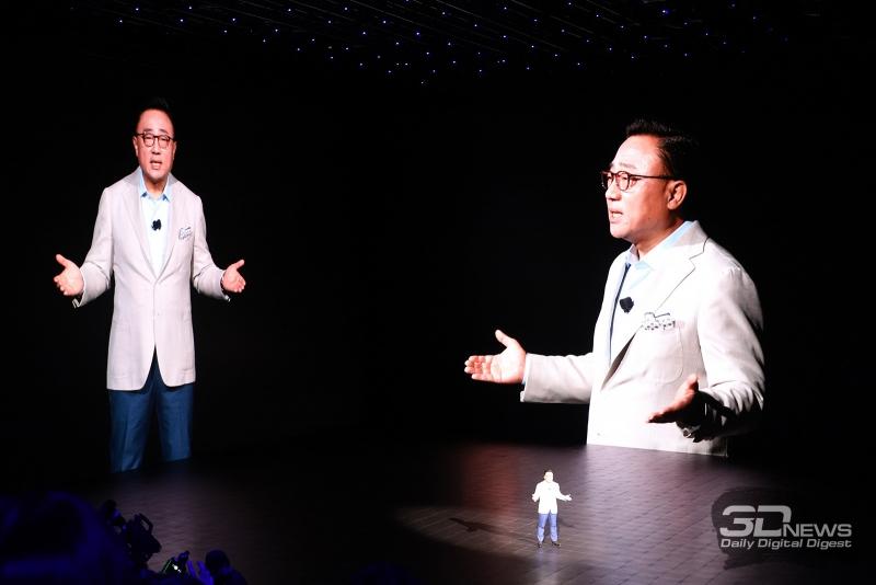 DJ Koh, глава подразделения Samsung Mobile
