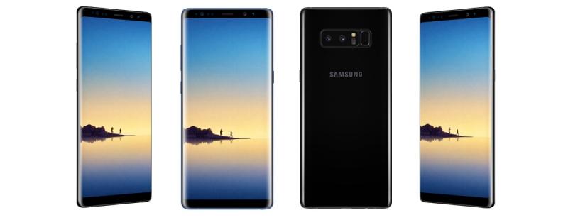 Официальный портрет Samsung Galaxy Note8
