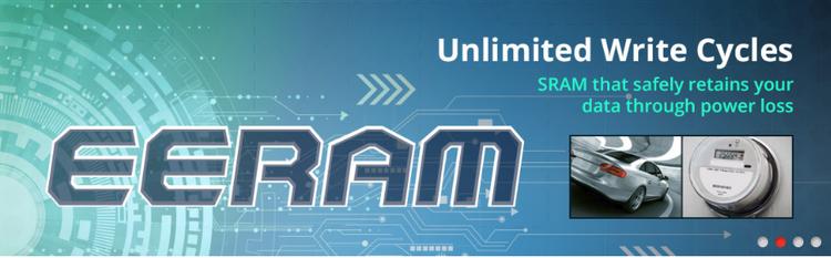 Microchip создала чипы SRAM с автоматическим резервированием данных