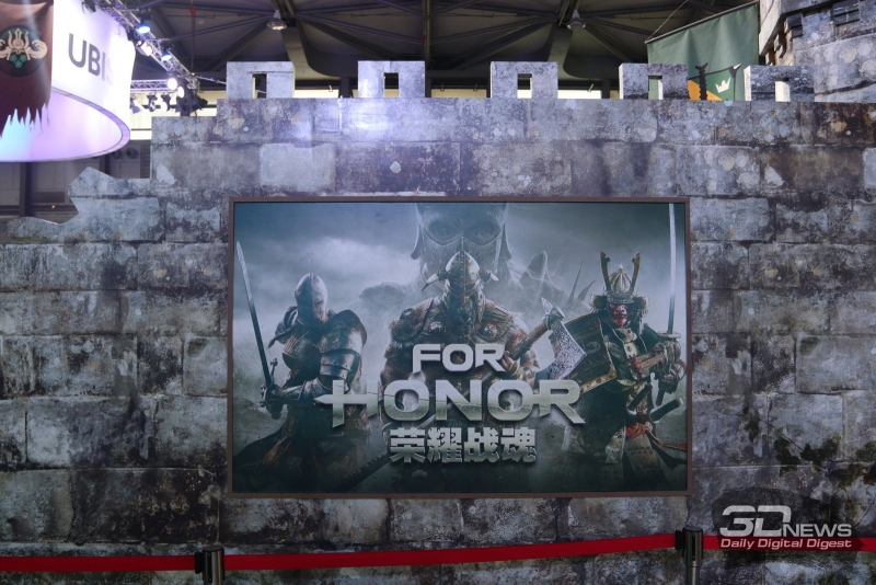 For Honor на стенде Ubisoft в рамках Chinajoy 2017
