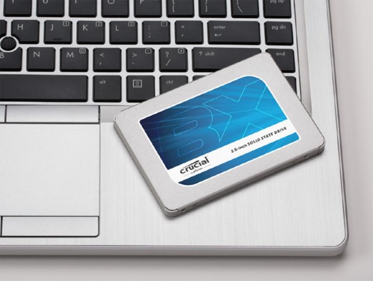 cru2 - Накопитель Crucial BX300 возвращает MLC NAND в массовые SATA SSD
