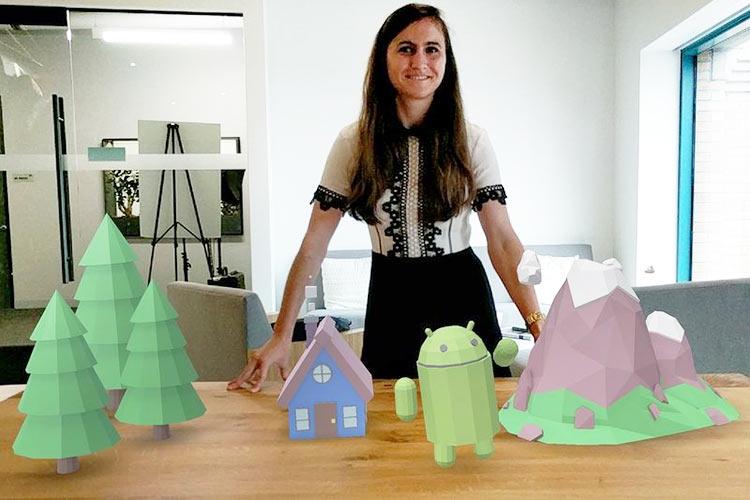 На смену Google Tango приходит платформа дополненной реальности ARCore""