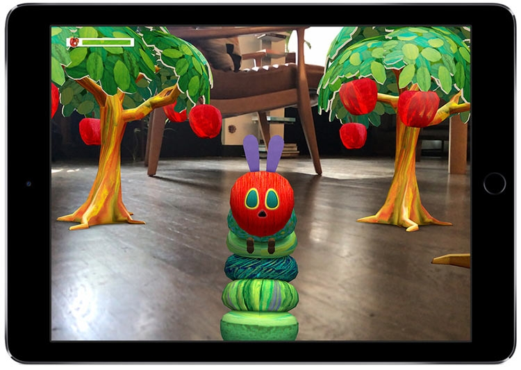The Very Hungry Caterpillar от Touch Press