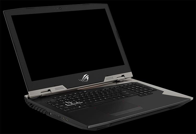 856 2 - IFA 2017: игровой ноутбук ASUS ROG Chimera G703 со 144-Гц матрицей