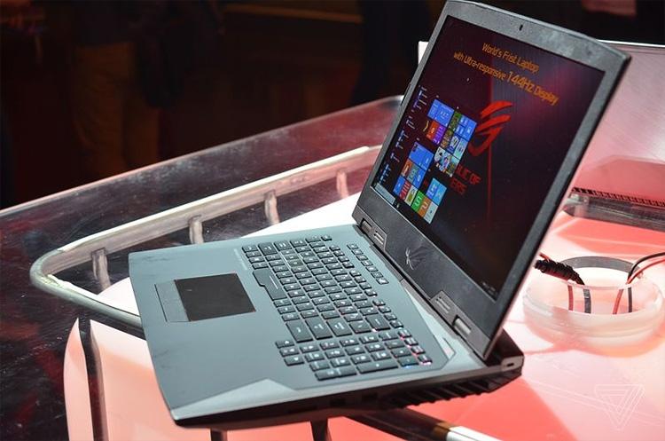 856 4 - IFA 2017: игровой ноутбук ASUS ROG Chimera G703 со 144-Гц матрицей