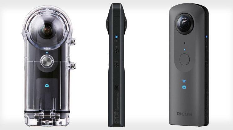 IFA 2017: камера Ricoh Theta V для съёмки круговых панорам в формате 4К