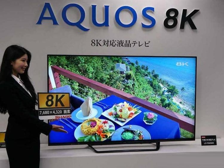 Телевизор Sharp 8К уже скоро