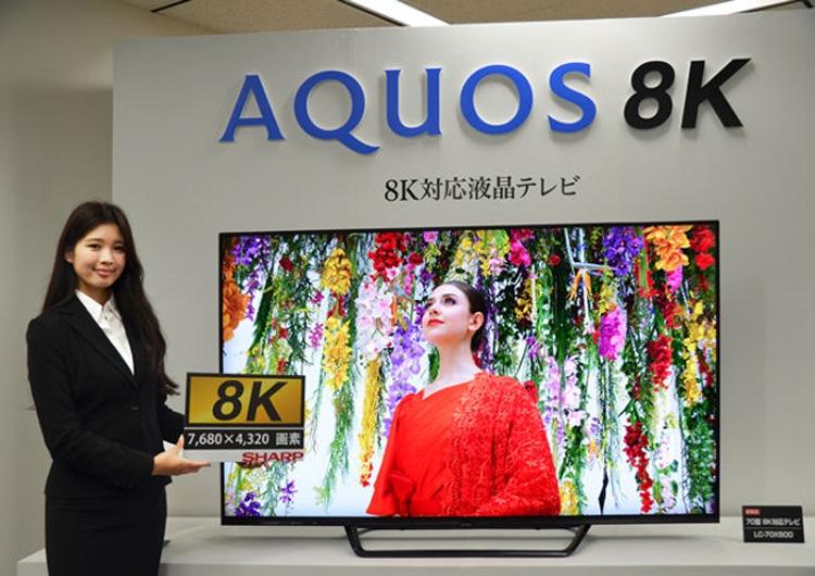 """Первый в мире потребительский 8К-телевизор выйдет на рынок в октябре"""""""