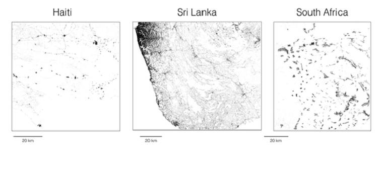 """Facebook создала подробную карту населения 23 стран Земли"""""""