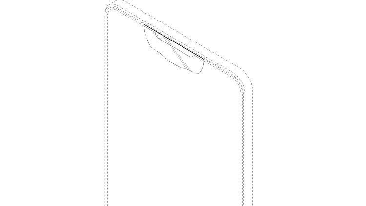 Samsung проектирует безрамочный смартфон