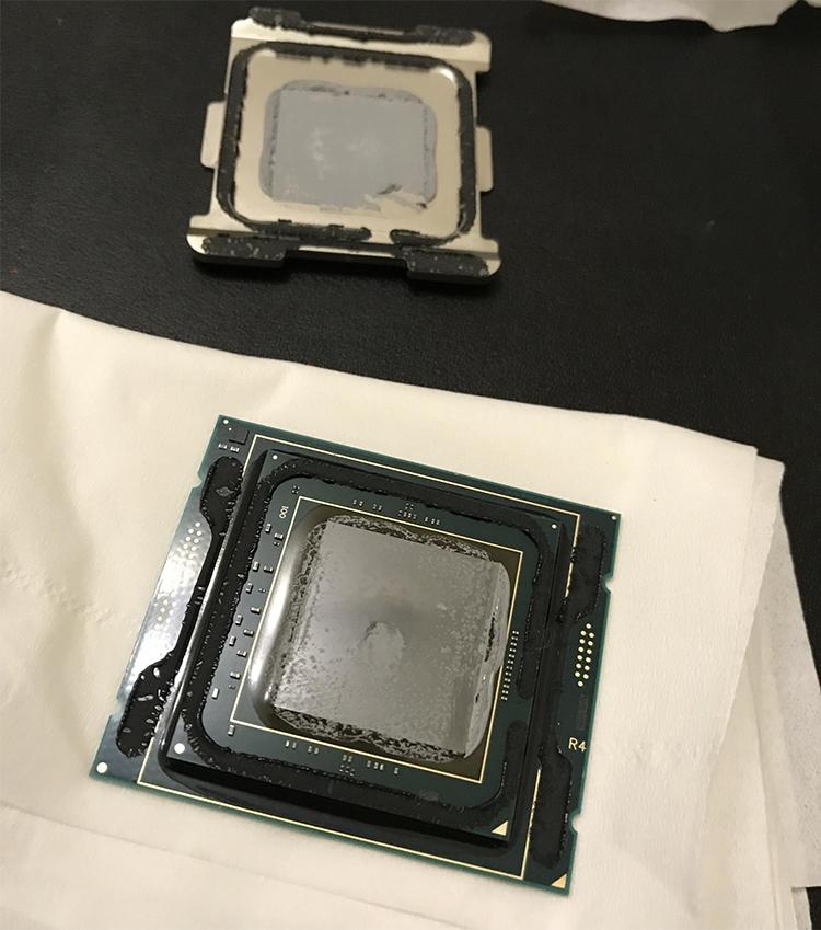 ooo - Разгон 18-ядерного Core i9-7980XE до 5,0 ГГц возможен: помогает скальпирование