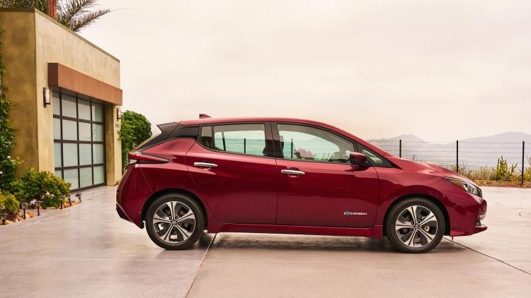 """Представлен электромобиль Nissan Leaf нового поколения"""""""