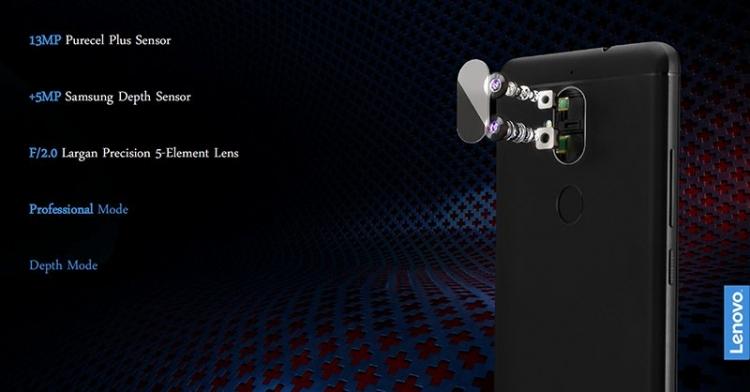 Смартфоны Lenovo K8 и K8 Plus
