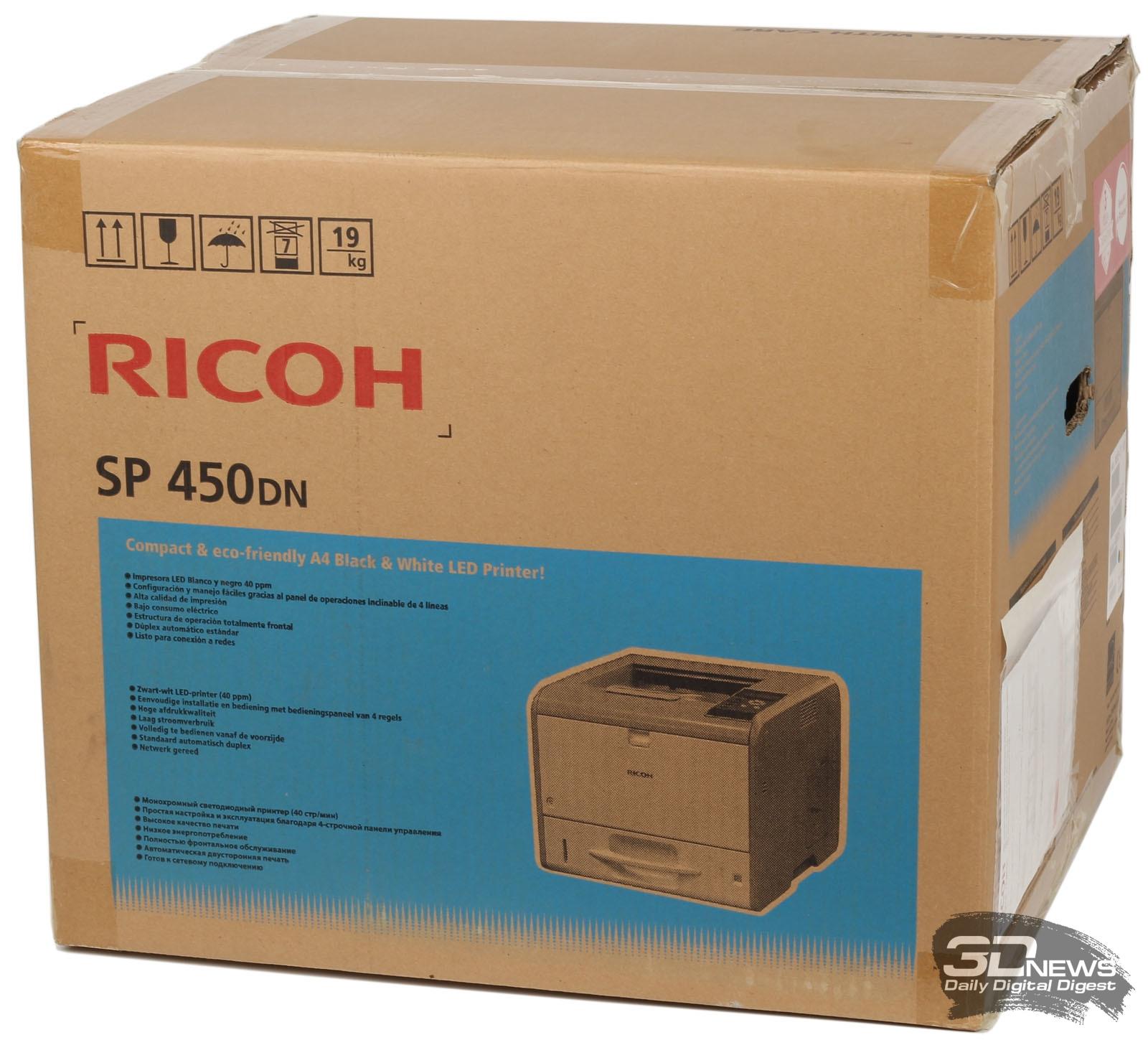 Новая статья: Принтер Ricoh SP 450DN: компактный профессионал