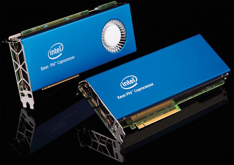 Сопроцессоры Intel Xeon Phi с интерфейсом PCI Express