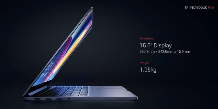 sm.7550440942.750 - Xiaomi представила конкурента MacBook Pro на новых процессорах Intel