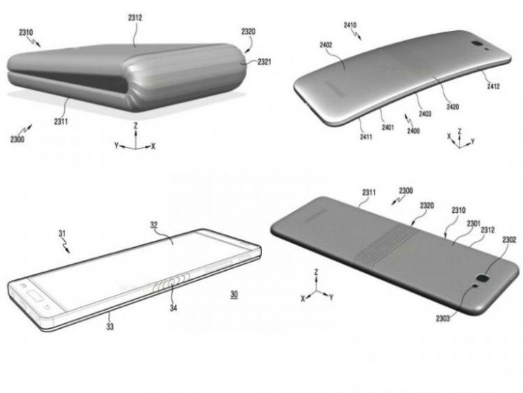 Samsung намерена выпустить складной смартфон