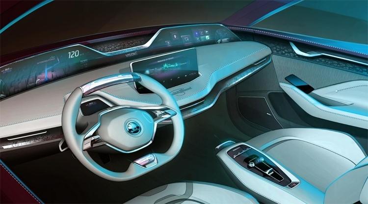 """Škoda Vision E: прикоснуться к будущему уже сегодня"""""""
