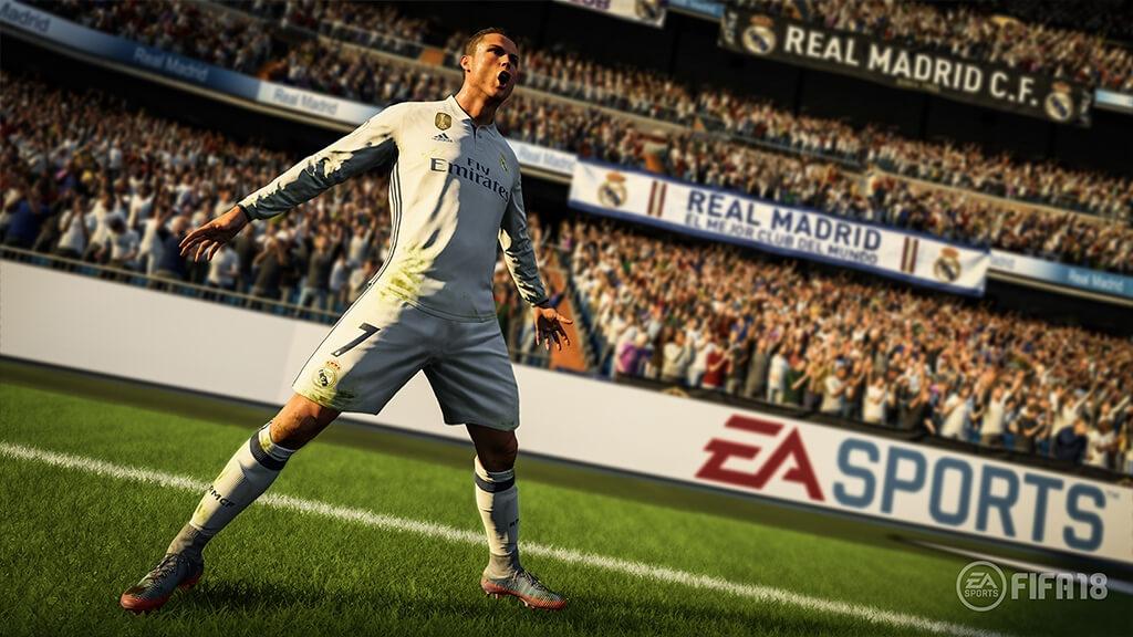 255ab27d0f59 «Оцените первыми Real Player Motion — технологию, стоящую за величайшими  инновациями в истории серии игр FIFA, — призывает издательство EA Sports.