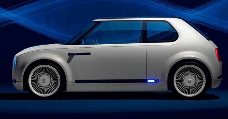 """Honda Urban EV: необычный концепт электромобиля в ретро-стиле"""""""