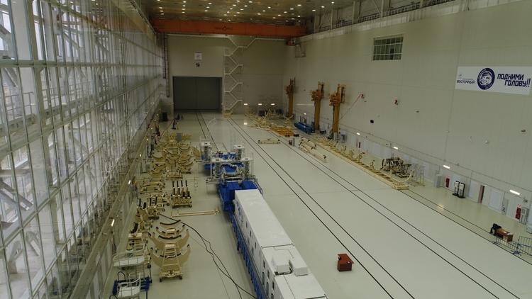 Начались испытания технического комплекса ракеты-носителя на Восточном