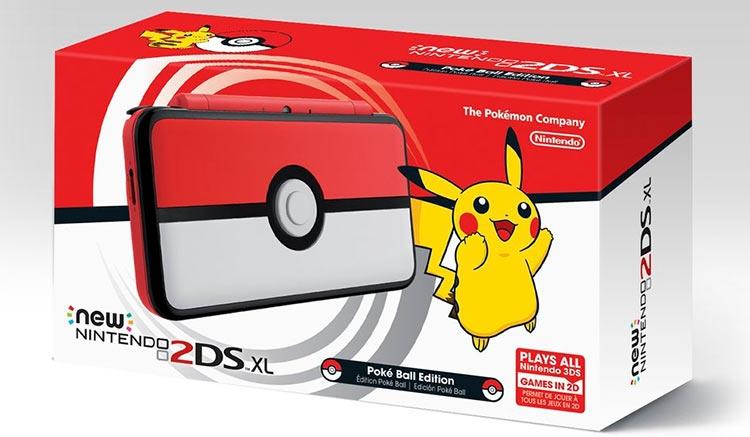 Nintendo выпустит в ноябре особое издание New 2DS XL для ловцов покемонов