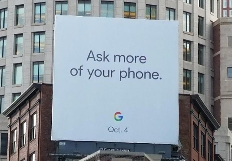 Google объявила дату анонса смартфонов Pixel 2