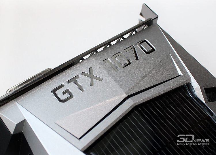 GeForce GTX 1070 Founders Edition