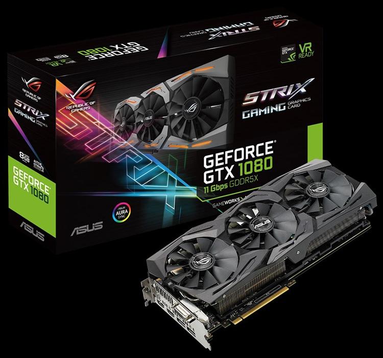 ASUS ROG Strix GeForce GTX 1080 11Gbps: неразогнанная карта для оверклокеров