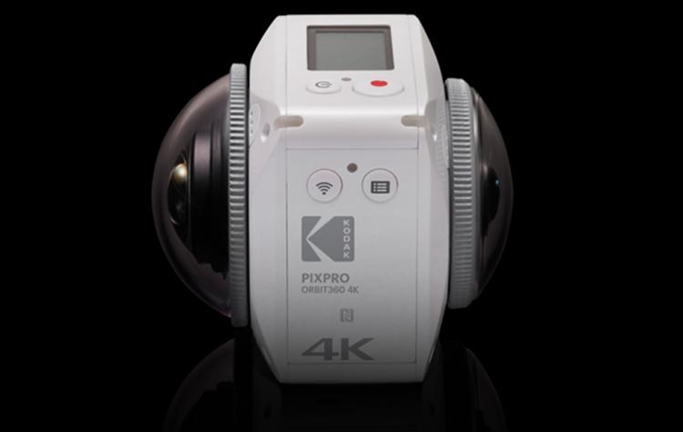 """Kodak PixPro Orbit360: экшен-камера с поддержкой 4K- и VR-контента"""""""