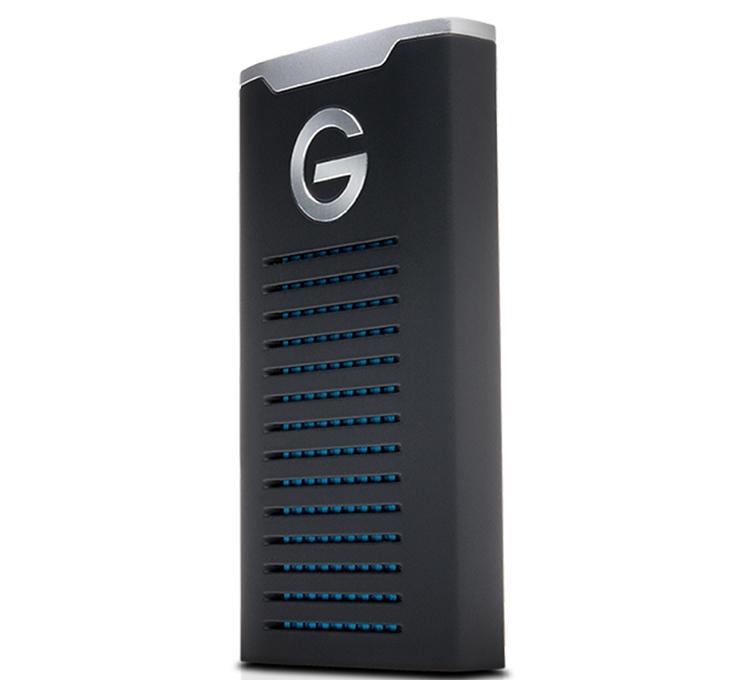 gt2 - Новый портативный SSD-накопитель WD G-Technology имеет защищённое исполнение