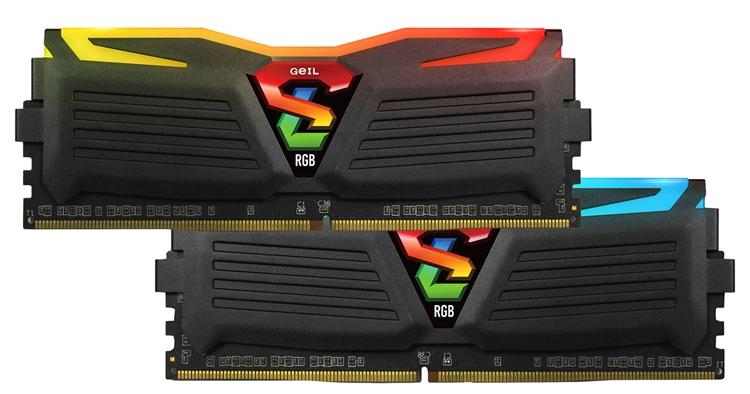 geil3 - GeIL Super Luce RGB Lite DDR4: модули памяти с многоцветной подсветкой