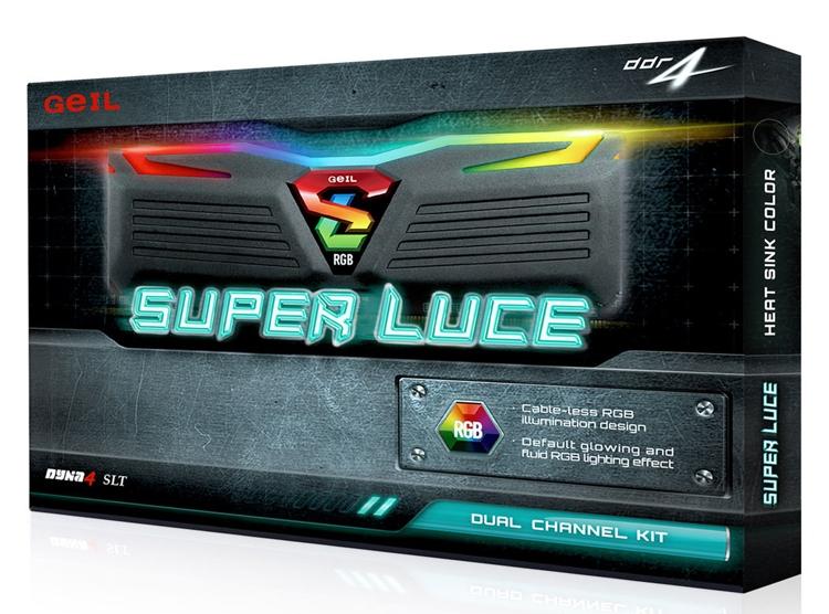 geil4 - GeIL Super Luce RGB Lite DDR4: модули памяти с многоцветной подсветкой