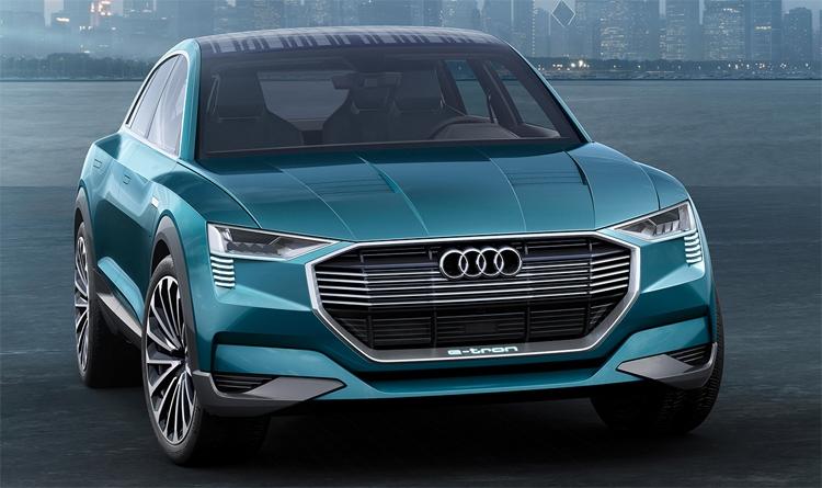 Audi поделилась планами по выпуску электромобилей