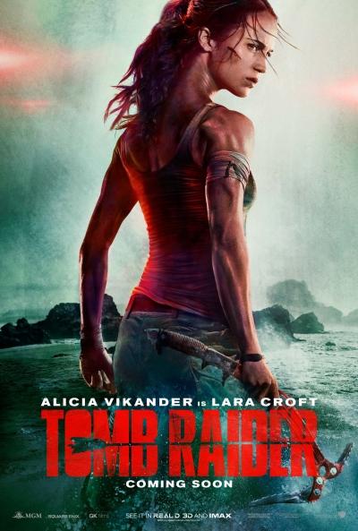 """Видео: первый трейлер экранизации перезапуска Tomb Raider"""""""