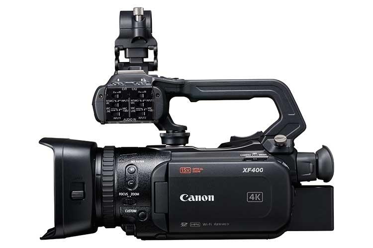 XF400 RIGHT SIDE 02 2 - Canon представила в России свою новую осеннюю коллекцию – 2017