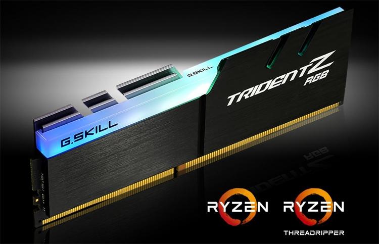 gs1 - Модули памяти G.SKILL Trident Z RGB DDR4 рассчитаны на платформу AMD